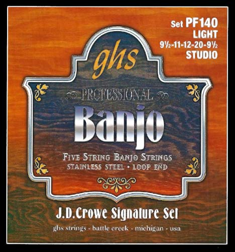 GHS Strings PF140 J.D. Crowe Signature Series (Studio), 5-String...