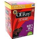 Ol' Roy 50-Ounce Bark'n Bac'n Treats, Twin Pack, Two 25oz. Stay Fresh Pouches