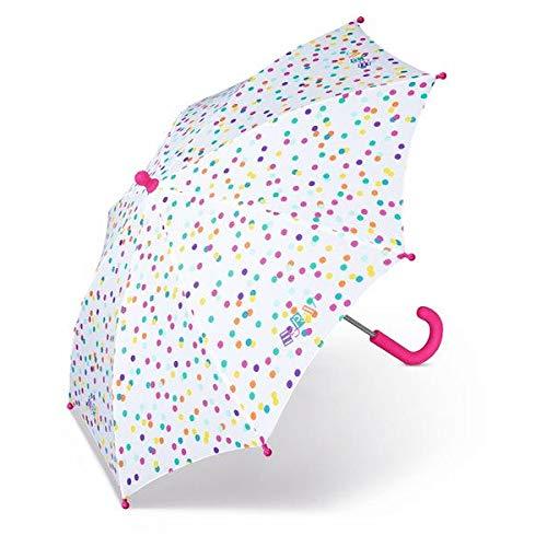 ESPRIT Long Kindergarten Colored Dots Stockschirm Kinderschirm Regenschirm 50809