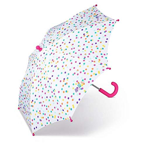 ESPRIT Long Kindergarten Colored Dots Stockschirm Kinderschirm Regenschirm 50809