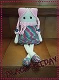 Rainbow. Amigurumi. Muñeca tejida a ganchillo. Oferta Black Friday
