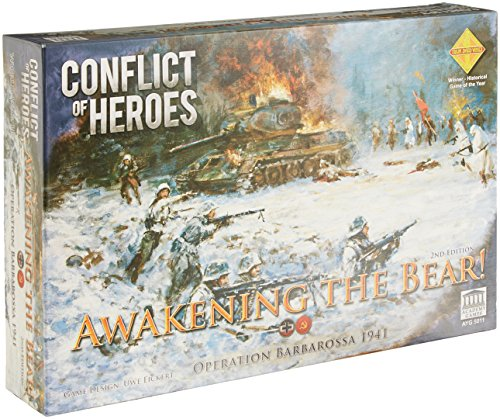Acacemy Games ACA05011 Conflict of Heroes Awakening Bear 2 Edition, Brettspiel