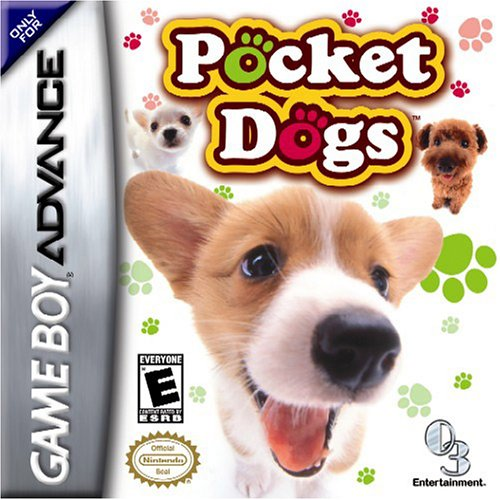 Pocket Dogs Game Boy Advance Hundespielzeug