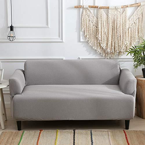 NOBCE Funda de sofá elástica seccional elástica para Sala de Estar Funda de sofá en Forma de L Funda de sillón de Esquina en Forma...