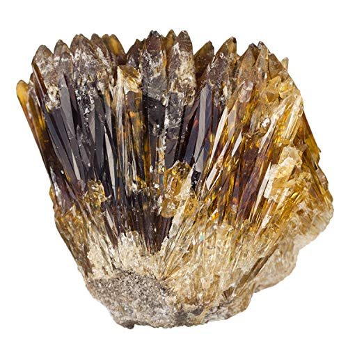 gold calcite crystal - 5