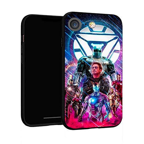 Funda para iPhone 7 Funda 8, Funda básica de plástico para iPhone 7/8 (Iron Man)