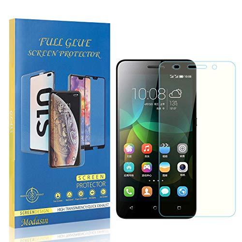 Modasin Bildschirmschutzfolie kompatibel mit Huawei Honor 4C, 9H Festigkeit HD Panzerglasfolie Bildschirmschutzfolie, Ultra klar Schutzfolie für Huawei Honor 4C, 1 Stück