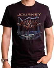 Journey Mens Raised On The Radio Premium Band T-Shirt
