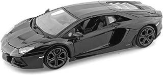 Lamborghini Matt Black Aventador LP 700-4 1:38 5
