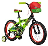 Teenage Mutant Ninja Turtles Boys Bicycle, 16-Inch Wheels, Green