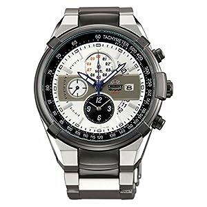 ORIENT TT0J003W – Reloj cronógrafo deportivo de cuarzo (100 m)