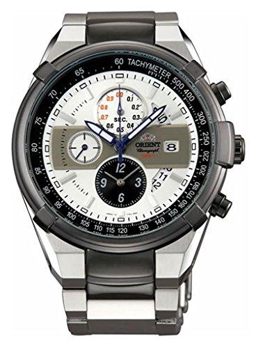 ORIENT TT0J003W – Reloj cronógrafo deportivo de cuarzo, 100 m