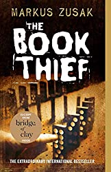 book cover for the book thief, books set around in different countries around the world