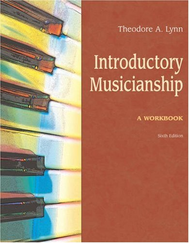 Introductory Musicianship: A Workbook