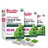Healthy Mama Calm The Crazy! Organic Morning Sickness Relief Tea. (3) Pack Caffeine Free Herbal Tea...