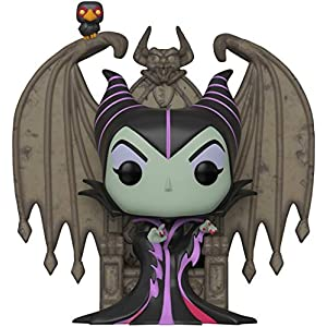 Funko Pop! Deluxe: Villains - Maleficent on Throne, Multicolor - 51C8VLyurvL - Funko Pop! Deluxe: Villains – Maleficent on Throne, Multicolor