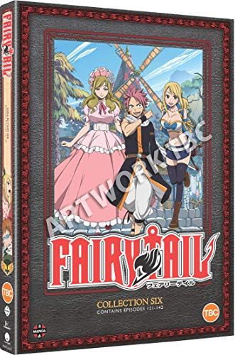 Fairy Tail Collection 6 (Episodes 121-142) [DVD]