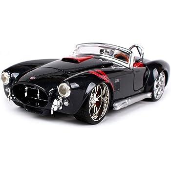 マイスト 1/24 ミニカー ダイキャストカーフォード 1965 シェルビー コブラ 427 レース スポーツカー Maisto 1965 Shelby Cobra 427 1:24 [並行輸入品]