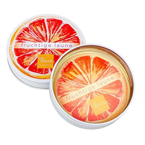 CONODORE Raumduft - verschiedene Sorten - frisch, natürlich, langanhaltend (fruchtige Laune; herb-fruchtige Orange)