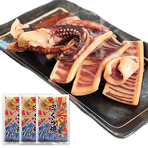 お中元 ギフト いかのふっくら焼130g×3袋 *14時までのご注文 ヤマキ食品 イカ屋荘三郎