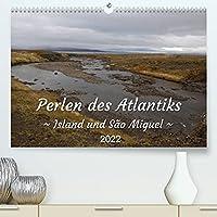 Perlen des Atlantiks - Island und São Miguel (Premium, hochwertiger DIN A2 Wandkalender 2022, Kunstdruck in Hochglanz): Landschaftsfotos von Island und den Azoren (Monatskalender, 14 Seiten )