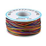 Fafeicy Color P/N B-30-1000 Test line 8-Color 0K line Electronic line Silicone wre kit tinned Copper Wire