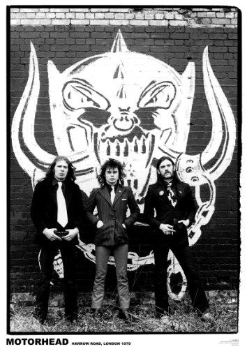 Motörhead Poster ORIGINALBESETZUNG London Harrow Road 1979