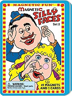 Silly Faces Magnetic Fun¨ Tin Set 2