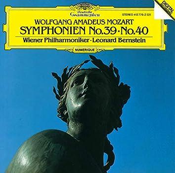 モーツァルト:交響曲第39番・第40番