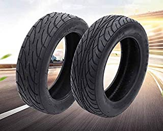 Bluemeow Electric Scooter Tires, 70 80-6.5 Thick Vacuum Tires, Comfortable Non-Slip Wear-Resistant Suitable for Balanced Car Tire Accessories