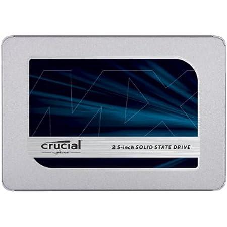 Crucial クルーシャル SSD 500GB MX500 SATA3 内蔵2.5インチ 7mm 5年保証 CT500MX500SSD1 9.5mmスペーサー付 [並行輸入品]