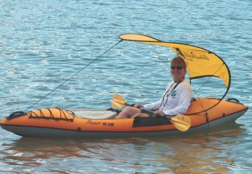 WindPaddle Gold Kayak Canopy And Sun Shade