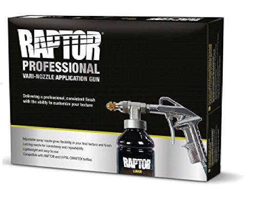 UPOL Lackierpistole Unterbodenschutzpistole mit verstellbarer Düse geeignet für Raptor Beschichtung UBS