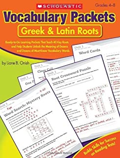 Vocabulary Packets: Prefixes & Suffixes: Ready-to-Go Learning Packets That Teach 50 Key Prefixes and Suffixes and Help Stu...