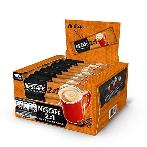 60 Sachets Nescafe 2in1 Creamy Producido En La UE Larga Fecha De Caducidad Stock Fresco