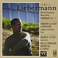 Liebermann: Symphony 2 / Flute Concerto (2000-10-24)