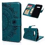 Beaulife Étui portefeuille en cuir PU pour Samsung Galaxy S10 Lite avec support magnétique et...