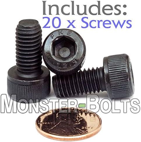 M8 8 mm auto couleur noir haute résistance Socket Cap Bolt Vis DIN 912