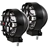 Anzo USA 861096 6' HID Off-Road Lamp with Anzo Logo Cover - Pair