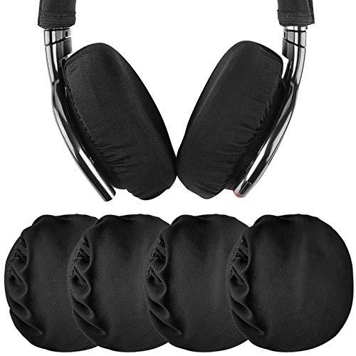Geekria 2 Pares de Fundas de Tela Flexible para Auriculares/Protectores de Auriculares...