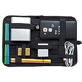 LZVTO バッグインバッグ A4 サイズ カバン 整理 収納ケース インナーバッグ PC周辺・携帯周辺 ガジェット&デジモノアクセサリ固定ツール スマホアクセサリー、ケーブル、マウス、モバイルバッテリー、USB充電器などの小物収納 ノートPC・タブレットケース 登山リュック用 出張用 旅行用 トラベル用 インナーケース (黒, 31cm*21cm)
