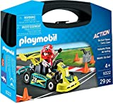 Playmobil - Go-Kart Racer Carry Case Juego con Accesorios, Multicolor (9322)