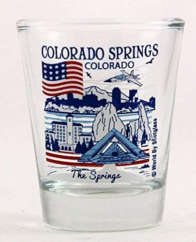 Colorado Springs Colorado Great American Cities Collection Shot Glass product image