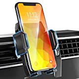 Car Phone Mount, Air Vent Phone Holder for Car Universal Car Phone Holder Mount Compatible with iPhone 12 Pro/11 Pro MAX/SE/XR/XS/X/8/7, Samsung Galaxy S20/S10/S9/Note 20/10 Etc