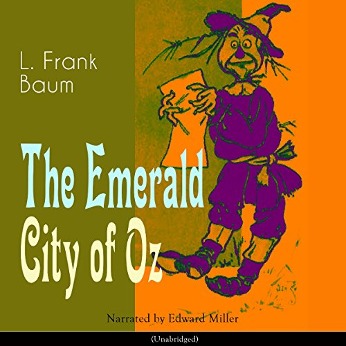 The Emerald City of Oz audiobook cover art