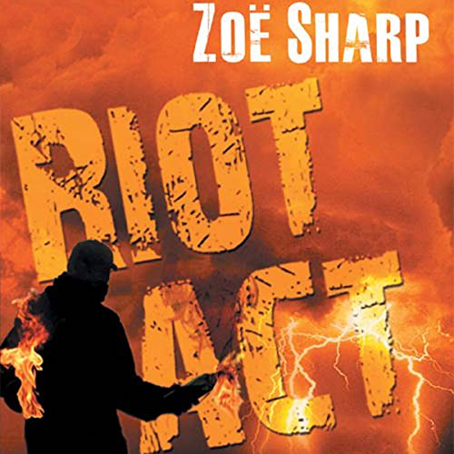 Riot Act audiobook cover art