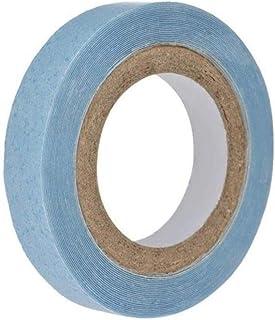شريط شعر مزدوج الجانب بلون ازرق بطول 3 ياردة، اكسسوارات للشعر المستعار