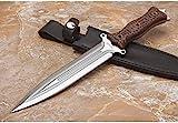 FARDEER Knife 0036 G10 excelente Cuchillo de Caza para Exteriores con Mango Antideslizante