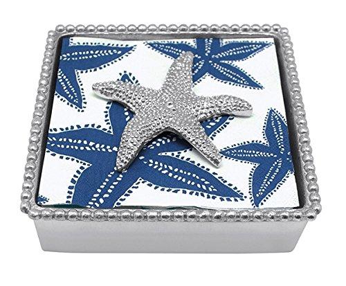 MARIPOSA voilier Twist Serviette Box, Bleu, 5.25\