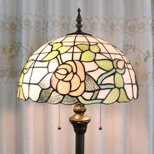 Dekorative Stehlampe Magische Beleuchtungsoptionen Moderne Stehlampe Raumleuchte Tiffany 40,6 cm Europäischer Stil Buntglas Stehlampe 2